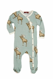 Milkbarn Kids Footed Romper - Product Mini Image