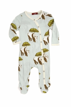 Milkbarn Kids Footed Romper Panada - Alternate List Image