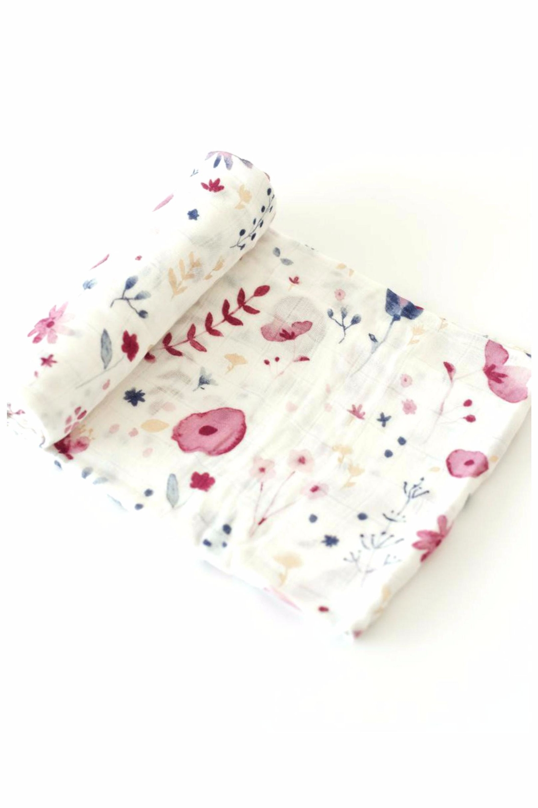 Little Unicorn Muslin Swaddle Fairygarden - Main Image