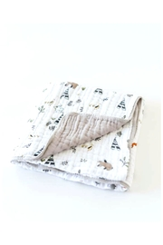 Little Unicorn Quilt Muslin Forest - Product Mini Image