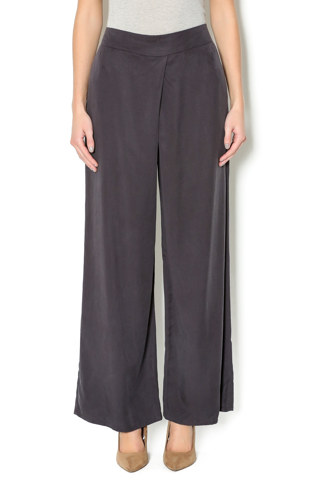 Milla Dressy Palazzo Pant - Front Cropped Image