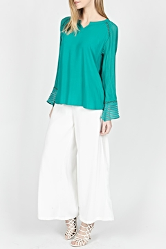 Milla Linear Silky Blouse - Product List Image