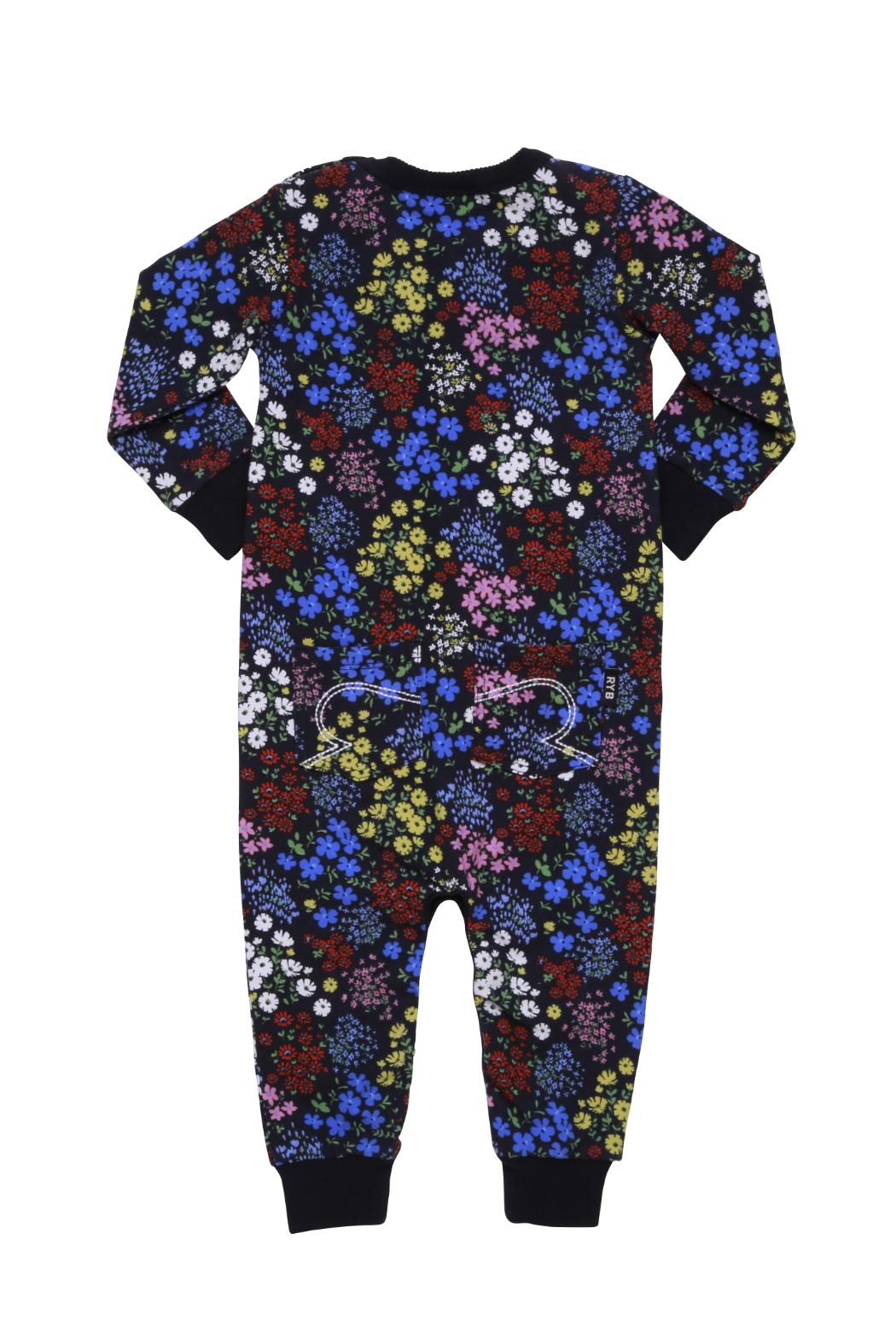 Rock Your Baby Mille Fiori Playsuit - Front Full Image