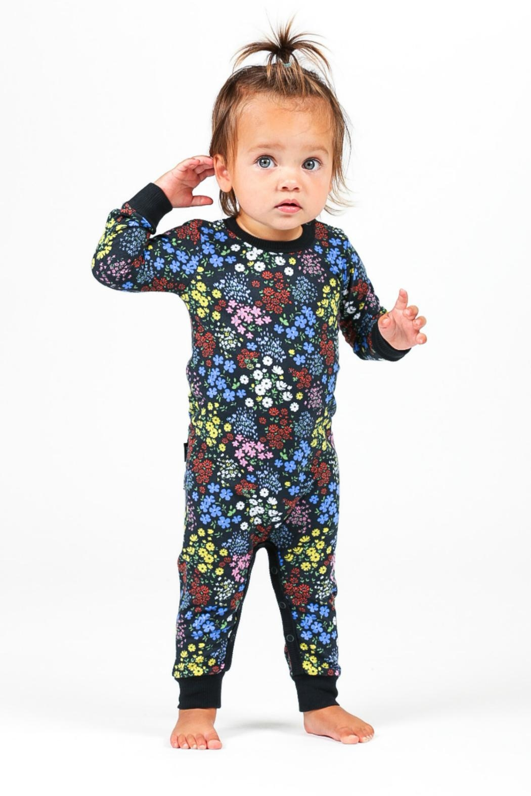 Rock Your Baby Mille Fiori Playsuit - Side Cropped Image