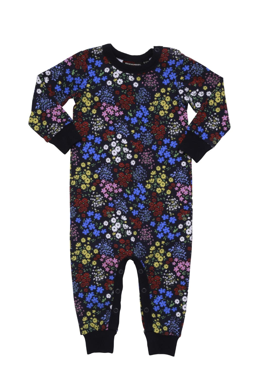 Rock Your Baby Mille Fiori Playsuit - Main Image