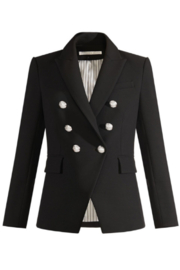 Veronica Beard Miller Dickey Jacket with Silver Buttons - Product Mini Image