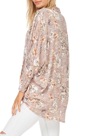 Millibon Blush Floral Cardigan - Front full body