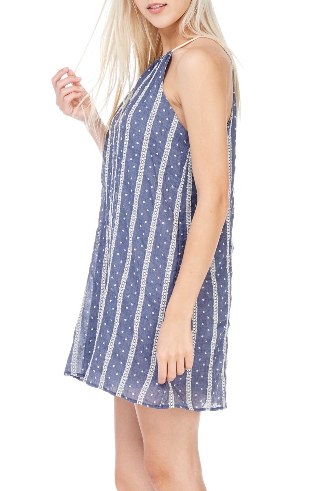 Millibon Lightweight Denim Dress - Side Cropped Image