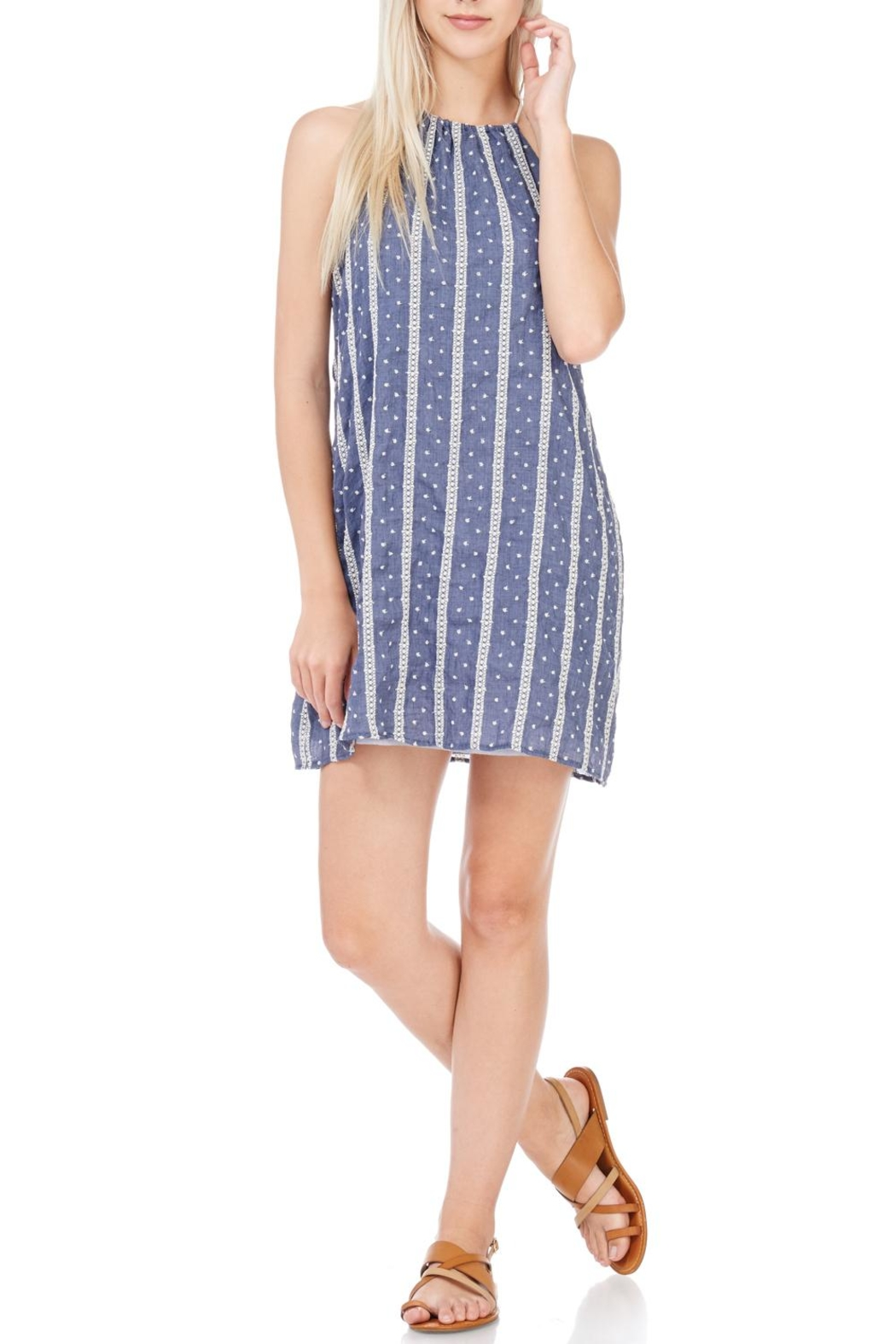 Millibon Lightweight Denim Dress - Main Image