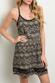 Millibon Printed Dress - Front cropped