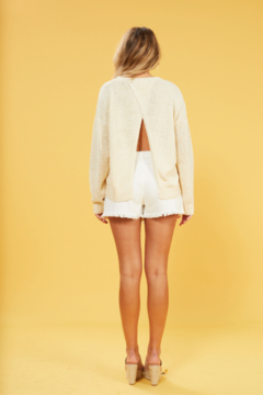 MINK PINK Millie Cross Back Sweater - Alternate List Image