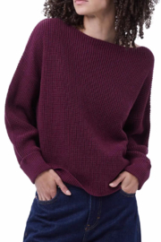 French Connection Millie Mozart Waffle Knit Sweater - Product Mini Image