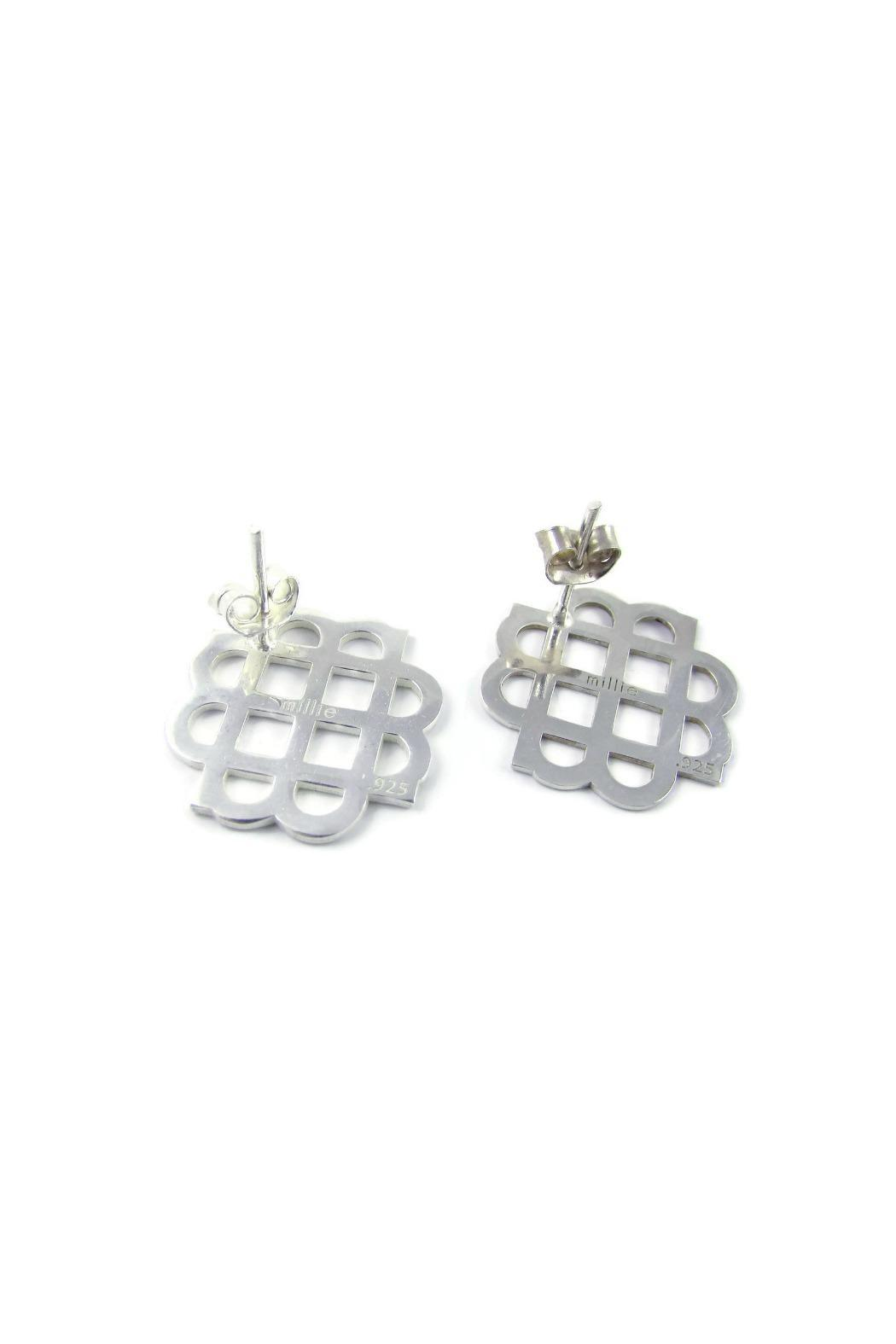 Millie Jewelry Millie Silver Earrings - Front Full Image