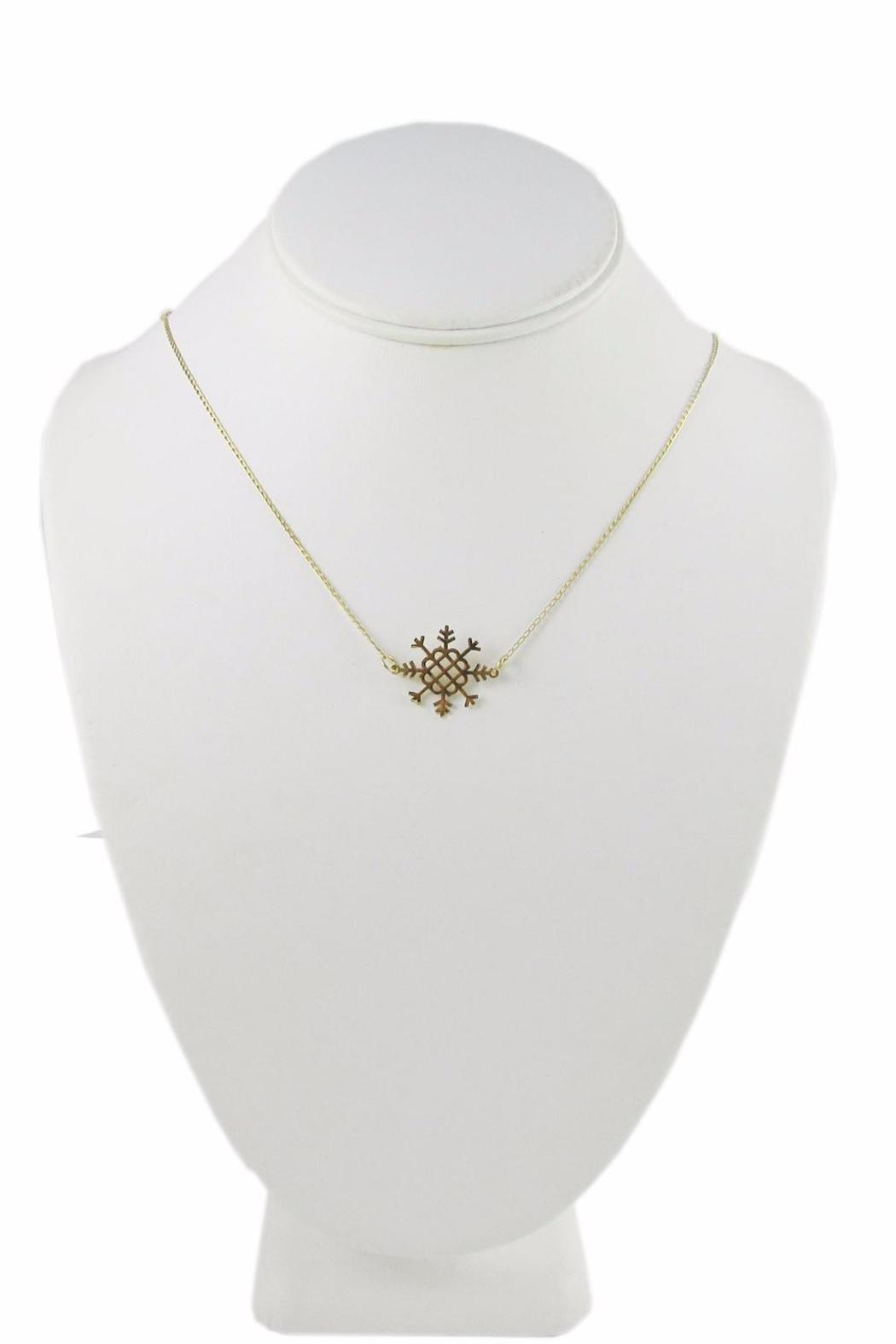 Millie Jewelry Millie Snowflake Necklace - Front Full Image