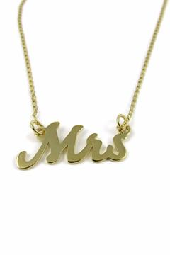 Millie Jewelry Mrs Necklace - Product List Image