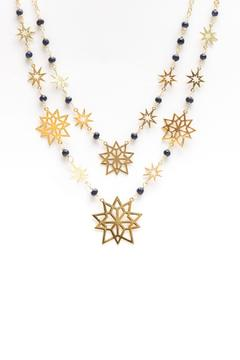 Millie Jewelry Starburst Statement Necklace - Product List Image