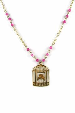 Millie Jewelry Valentine Birdcage Necklace - Product List Image