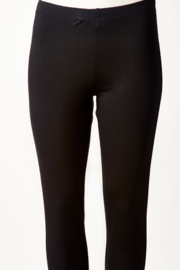 Jezebels Jewels Million slim black pant with front slit - Product Mini Image