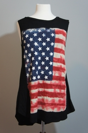 Million Bullpup American Flag Sleeveless-Top - Product Mini Image