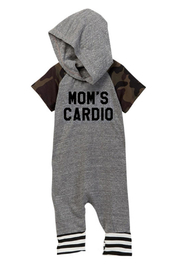 Million Polkadots Mom's Cardio Onesie - Front cropped