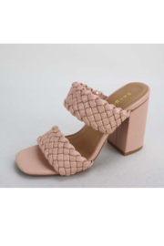 Bamboo Millstone-13 Heeled Sandal - Front cropped