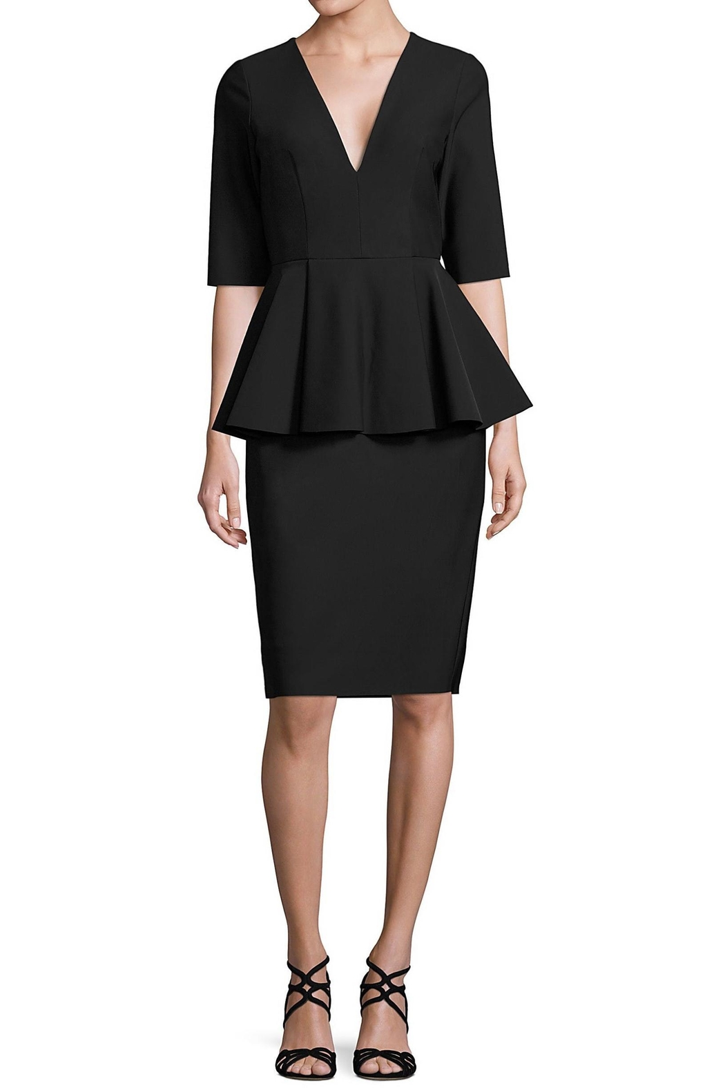 Milly Lola Peplum Dress from Dallas by Pax & Parker — Shoptiques
