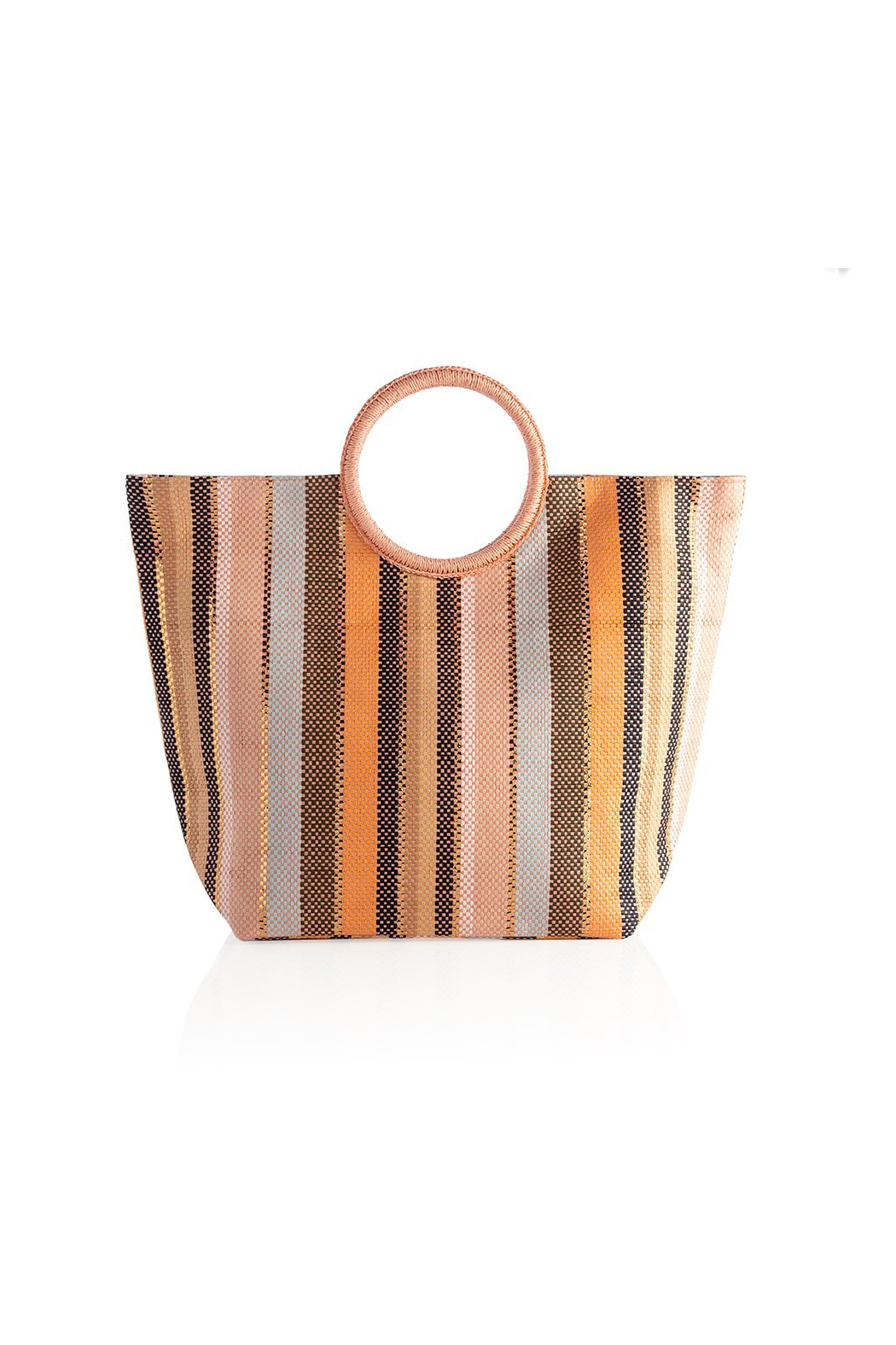 Shiraleah Milly Straw Tote - Front Cropped Image