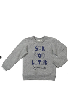 Egg  by Susan Lazar Milo Sweatshirt - Alternate List Image