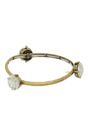 Mimi's Gift Gallery Antique Gold Rhinestone Bracelet - Front cropped