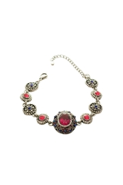 Mimi's Gift Gallery Silver Crystal Bracelet - Product Mini Image