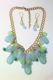 Mimi's Gift Gallery Blue/green Necklace Set - Product Mini Image