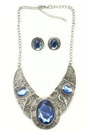 Shoptiques Product: Blue Necklace Set