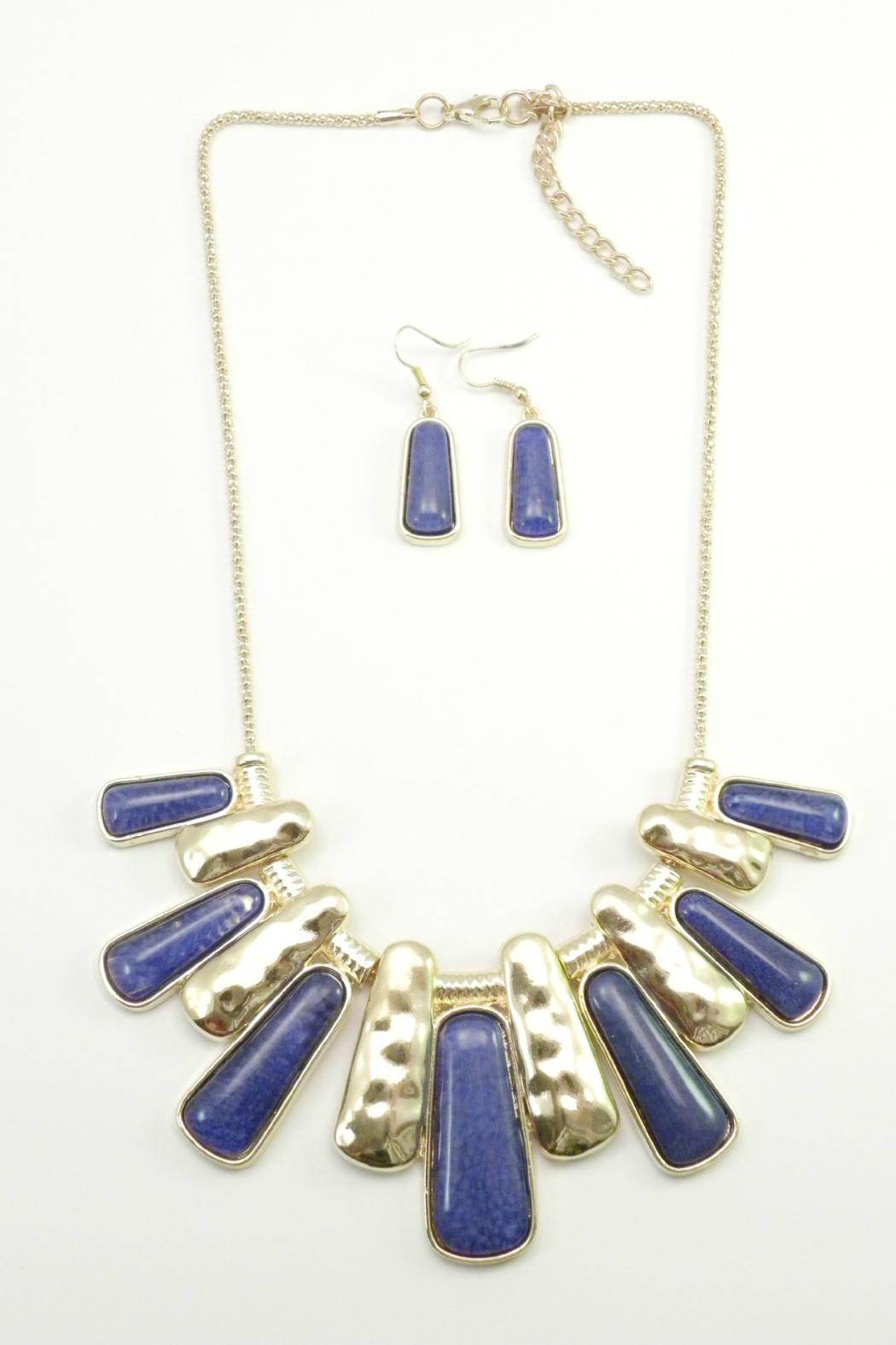 Mimi's Gift Gallery Blue Necklace Set - Main Image