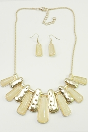 Mimi's Gift Gallery Blush Gold Necklace Set - Product Mini Image