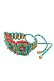 Mimi's Gift Gallery Boho Drawstring Bracelet - Front cropped