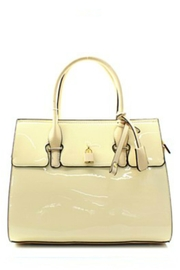 Mimi's Gift Gallery Bone Patent Satchel - Product Mini Image