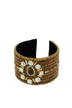 Shoptiques Product: Brown Cuff Bracelet