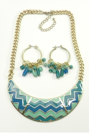Mimi's Gift Gallery Chevron Necklace Set - Product Mini Image