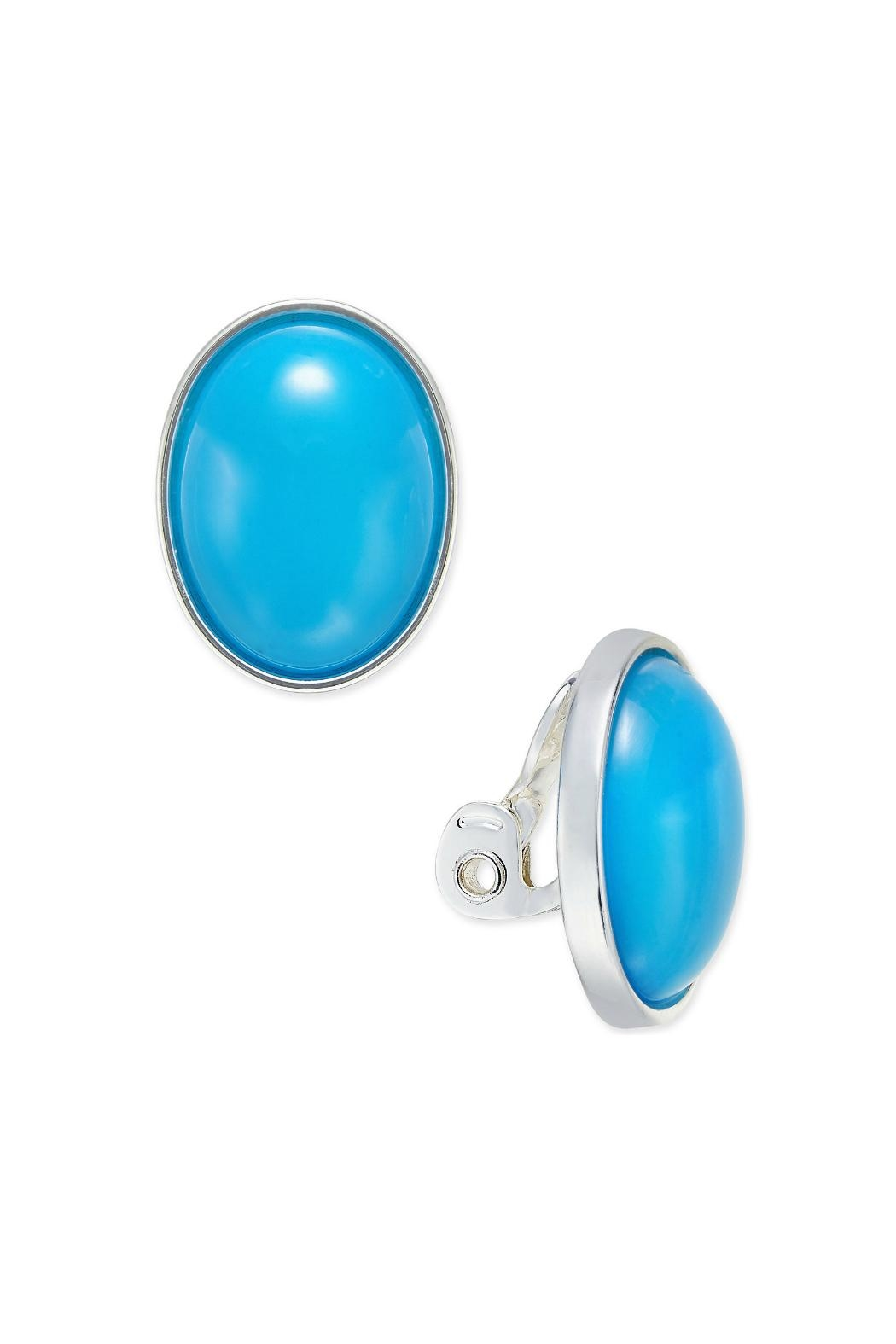Mimi's Gift Gallery Clip-On Blue Ovals - Main Image