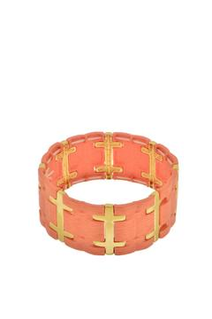 Mimi's Gift Gallery Coral Stretch Bracelet - Alternate List Image