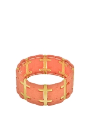 Mimi's Gift Gallery Coral Stretch Bracelet - Product Mini Image