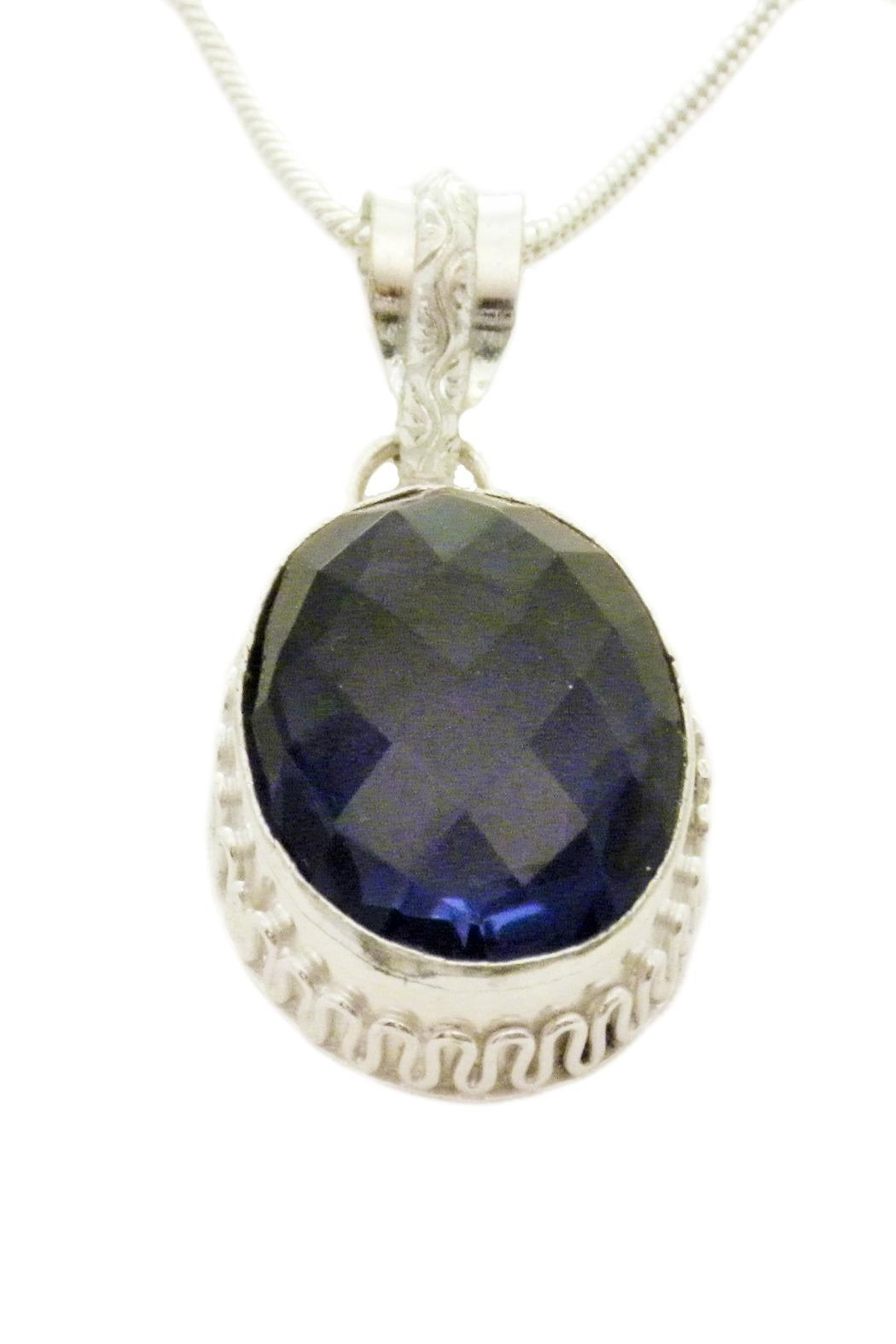 Mimi's Gift Gallery Deep Blue Topaz - Front Full Image