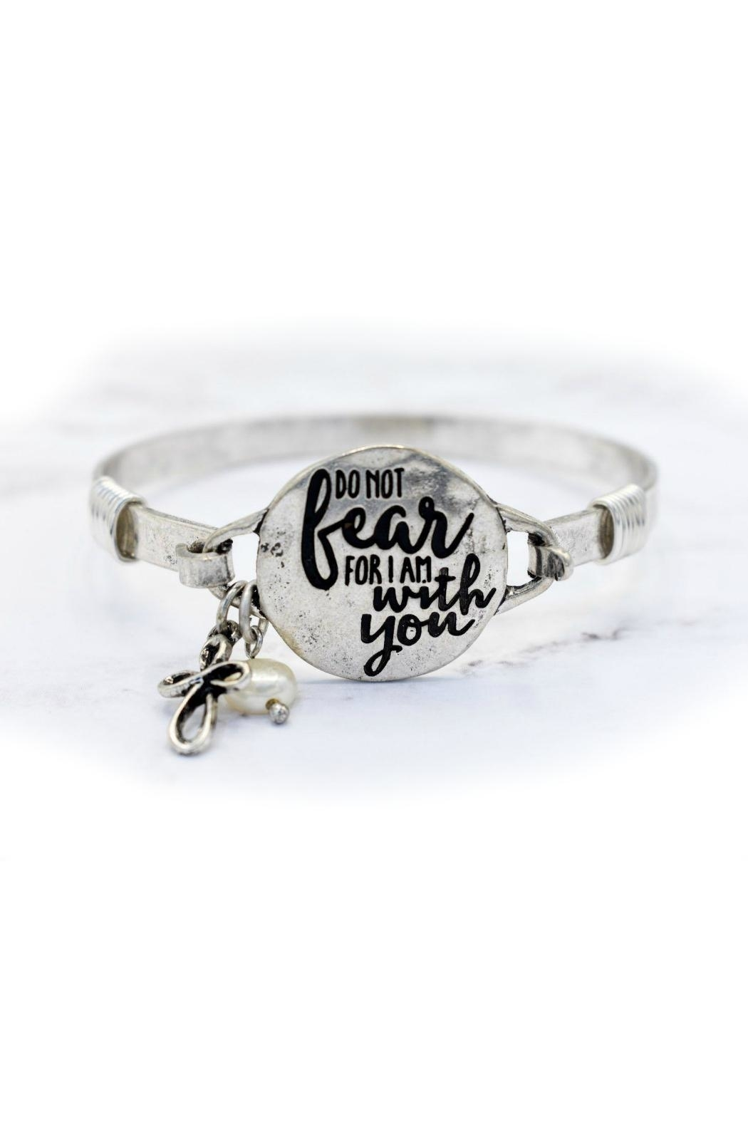 Mimi's Gift Gallery Do Not Fear-Bracelet - Front Cropped Image