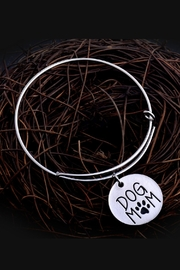 Mimi's Gift Gallery Dog Mom Bangle - Front cropped