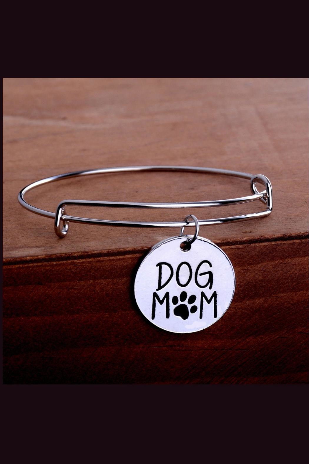 Mimi's Gift Gallery Dog Mom Bangle - Front Full Image