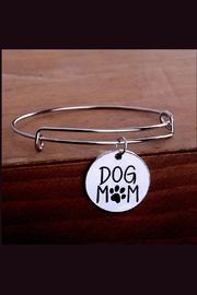 Mimi's Gift Gallery Dog Mom Bangle - Front full body