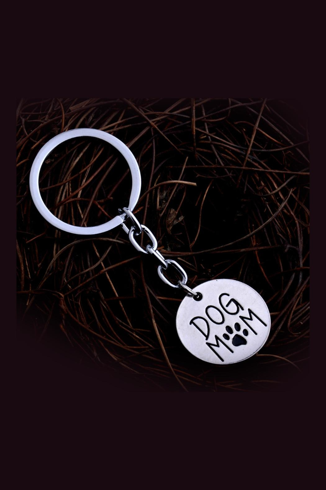 Mimi's Gift Gallery Dog Mom Keychain - Main Image