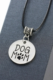 Mimi's Gift Gallery Dog Mom Necklace - Front full body
