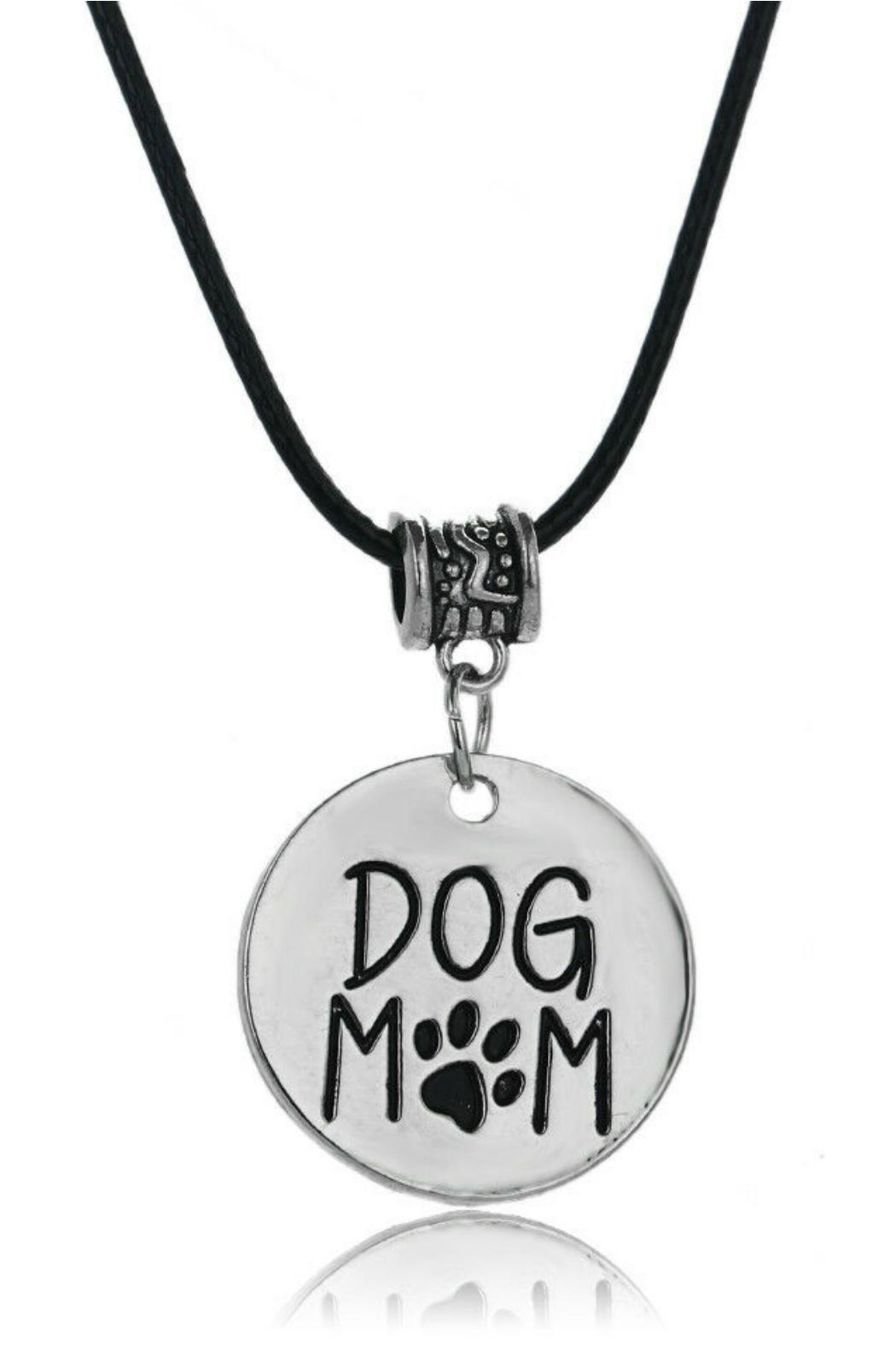 Mimi's Gift Gallery Dog Mom Necklace - Front Cropped Image