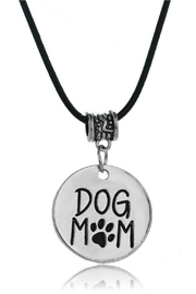 Mimi's Gift Gallery Dog Mom Necklace - Front cropped
